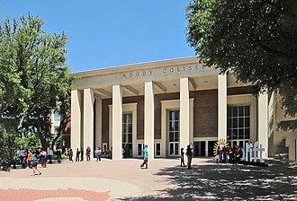 Moody Coliseum - Image: Moody Coliseum EXT