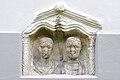 Moosburg Pfarrkirche Roemerstein Stelenoberteil Ehepaar 28082010 33.jpg