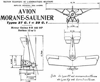 Morane-Saulnier AI - Morane-Saulnier AI drawing