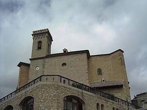 Moratalla, Murcia - Image: Moratalla iglesia Asuncion