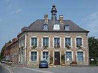 Morbecque (Nord, Fr) mairie.JPG