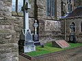 More clerical graves at St Patrick's RC Church, Downpatrick - geograph.org.uk - 1529374.jpg