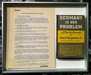 Morgenthau Plan - Morgenthau's 1945 book Germany is Our Problem