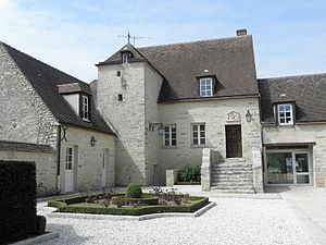 Morigny-Champigny - The town hall in Morigny-Champigny