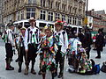 Morris dancers at Holy Corner, Liverpool.JPG