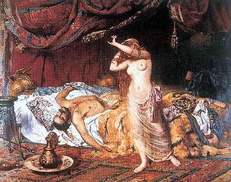Ildico - Image: Morte di Attila, Ferenc Paczka