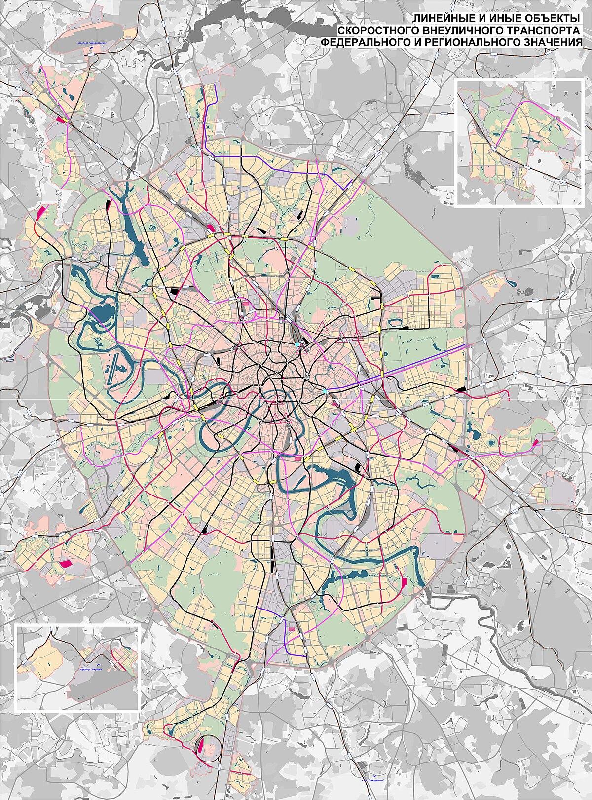 Московское схема 2025