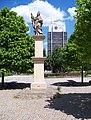 Most, 2. náměstí, socha svatého Prokopa, SHD Komes.jpg