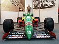 Motor-Sport-Museum am Hockenheimring, 1989 Benetton Ford 189, pic1.JPG