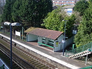 Moulsecoomb railway station - Image: Moulsecoomb Station 02