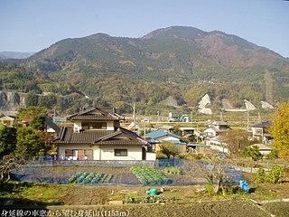Minobu, Yamanashi Town in Japan