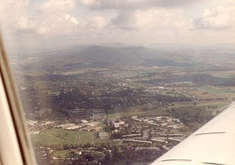 Mount Nittany - Image: Mount Nittany Aerial 1988