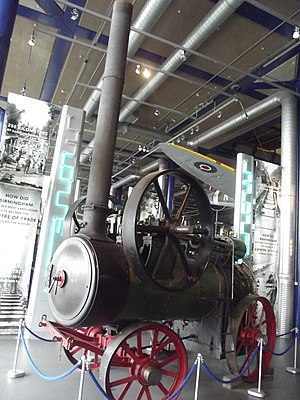 Ruston, Proctor and Company - No. 18188 seen at Thinktank, Birmingham