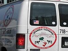 Camioncino pubblicitario a New York.
