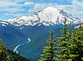 Mt. Rainier from the Summit of Crystal - panoramio.jpg