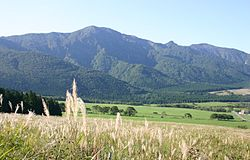 Mount Kamuro is located in Mogami