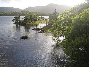 Lakes of Killarney - Muckross Lake viewed from Brickeen Bridge