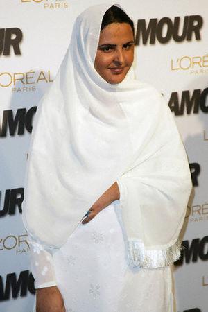 Mukhtār Mā'ī - Mai at Glamour Magazine Woman of the Year 2005