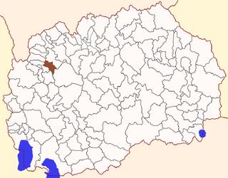 Čegrane Municipality Former Municipality in Polog Statistical Region, North Macedonia