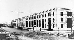 Main Navy and Munitions Buildings - Munitions Building, located on Constitution Avenue, in 1919