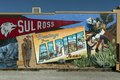 Mural by Cleburne, Texas, artist Stylle Read depicting local history in downtown Alpine, Texas LCCN2014631207.tif