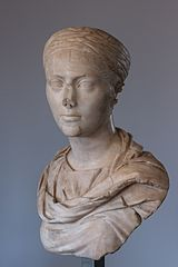 Bust of an unknown woman Ra 77