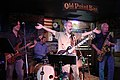Music at Old Point Bar, New Orleans, May 2015 - Leah Caroline Jones 02.jpg