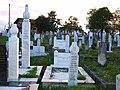 Muslim cemetery near Cazin, Bosnia-Herzegovina.JPG