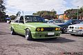 My E30 BMW at a meet driving in.jpg