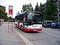 Nádraží Uhříněves, Urbino 1634 ČSAD Pokost na lince 325.jpg