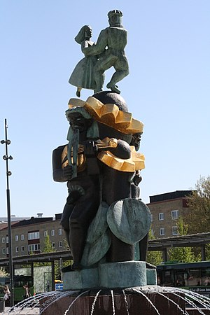 Neck (water spirit) - Näckens polska by Bror Hjorth