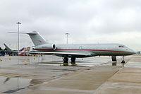 N500VJ - GL5T - Kyrgyz International Airlines