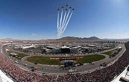 Las Vegas Motor Speedway before the NASCAR UAW-Dodge 400 Sprint Cup Series race.