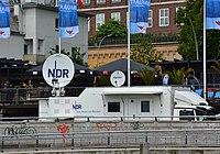 NDR-Übertragungswagen – 825. Hamburger Hafengeburtstag 2014 02.jpg