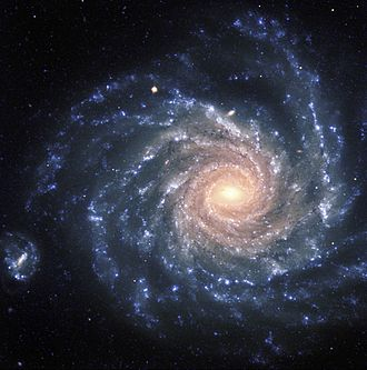 Eridanus Cluster - The spiral galaxy NGC 1232 is one of the brightest in the Eridanus Cluster.
