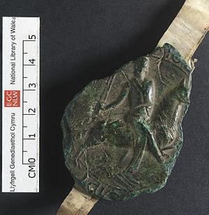 Llywelyn the Great - Seal of Llywelyn ap Iorwerth, used on official documents