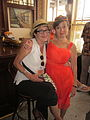 NO Trad Jazz Camp 2012 Palm Court Nita Ms Claudia.JPG