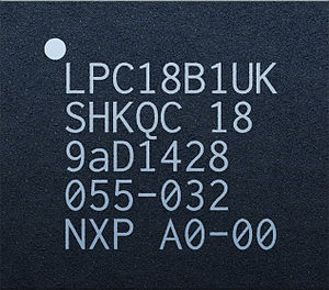 Apple motion coprocessors - Image: NXP LPC18B1