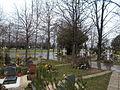 Nagytétény cemetery. Mini roundabout. - Budapest District XXII.JPG