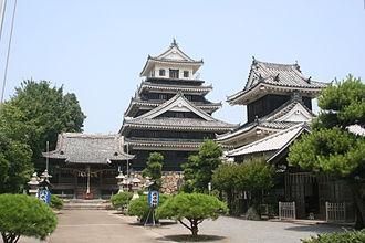 Nakatsu, Ōita - Image: Nakatsu Castle