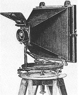Nakres fotogrammetricke kamery