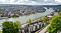 Namur Blick von der Zitadelle auf die Maas 03.jpg