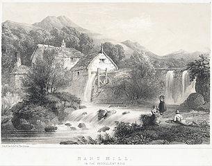 Nant Mill, On The Beddgelert Road
