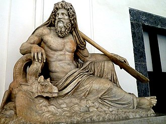 Oceanus - River Divinity, second century AD, Farnese collection, Naples National Archaeological Museum