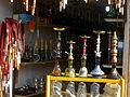 Nargileh (Hookah-Ghelyan-наргиле-narghilè) Store in Cotton-beating Bazaar of Nishapur 1.JPG