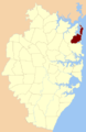 Narrabeen Parish Cumberland county locator.png