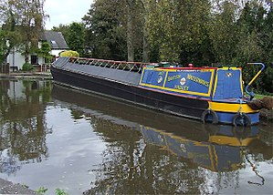 Grand Union Canal Carrying Company - The boat was originally built by Harland and Wolff in May 1937 for the Grand Union Canal Carrying Company, but is seen here at Tatenhill Lock, Staffordshire, in British Waterways colours following its most recent restoration.