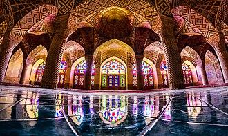 Nasir ol Molk Mosque - Inside view.