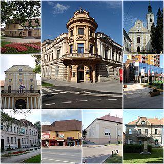 Virovitica City in Virovitica-Podravina, Croatia