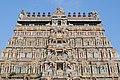 Nataraja Temple gopuram artwork in Chidambaram, Tamil Nadu.jpg